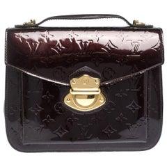 Louis Vuitton Amarante Monogram Vernis Mirada Bag