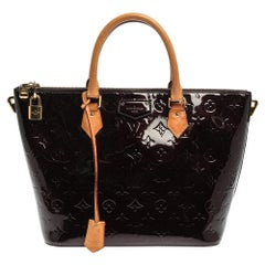 Louis Vuitton Amarante Monogram Vernis Montebello MM Bag