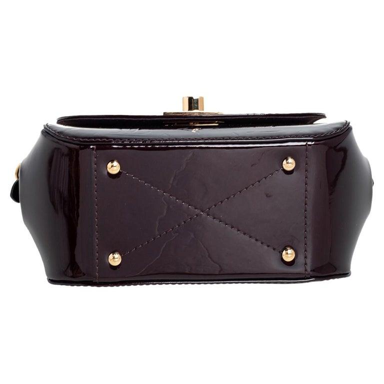 Women's Louis Vuitton Amarante Monogram Vernis Pasadena Bag For Sale