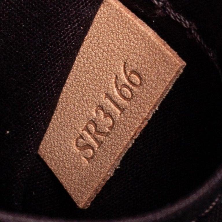 Louis Vuitton Amarante Monogram Vernis Pasadena Bag For Sale 4