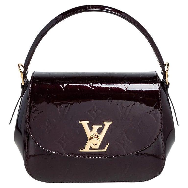 Louis Vuitton Amarante Monogram Vernis Pasadena Bag For Sale