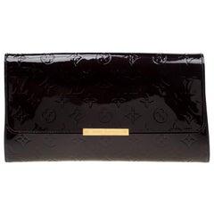 Louis Vuitton Amarante Monogram Vernis Robertson Clutch