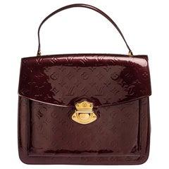 Louis Vuitton Amarante Monogram Vernis Romaine Bag