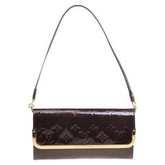 Louis Vuitton Amarante Monogram Vernis Rossmore MM Clutch