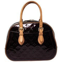 Louis Vuitton Amarante Monogram Vernis Summit Drive Bag
