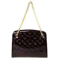 Louis Vuitton Amarante Monogram Vernis Virginia MM Bag