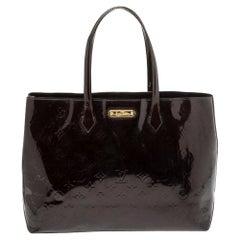 Louis Vuitton Amarante Monogram Vernis Wilshire MM Bag