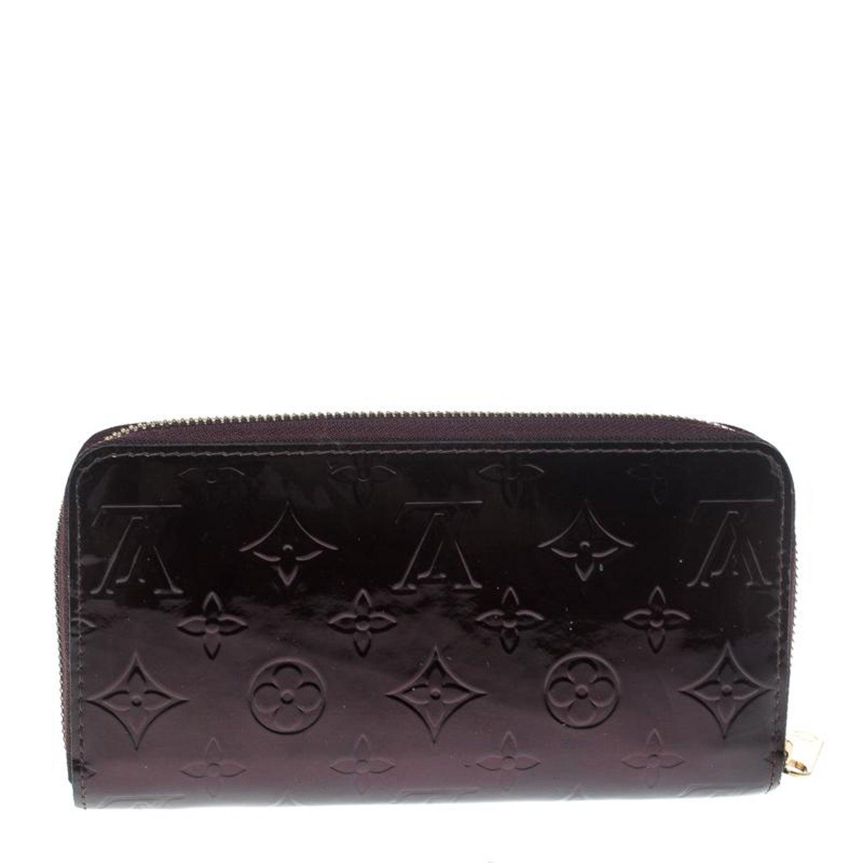 6dfd5051c699 Louis Vuitton Amarante Monogram Vernis Zippy Wallet at 1stdibs