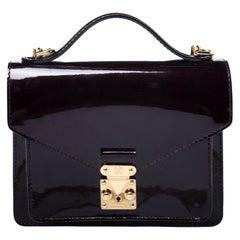 Louis Vuitton Amarante Vernis Monceau BB Bag
