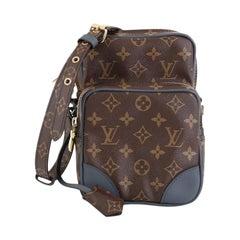 Louis Vuitton Amazone Bag Limited Edition Monogram Slate Canvas