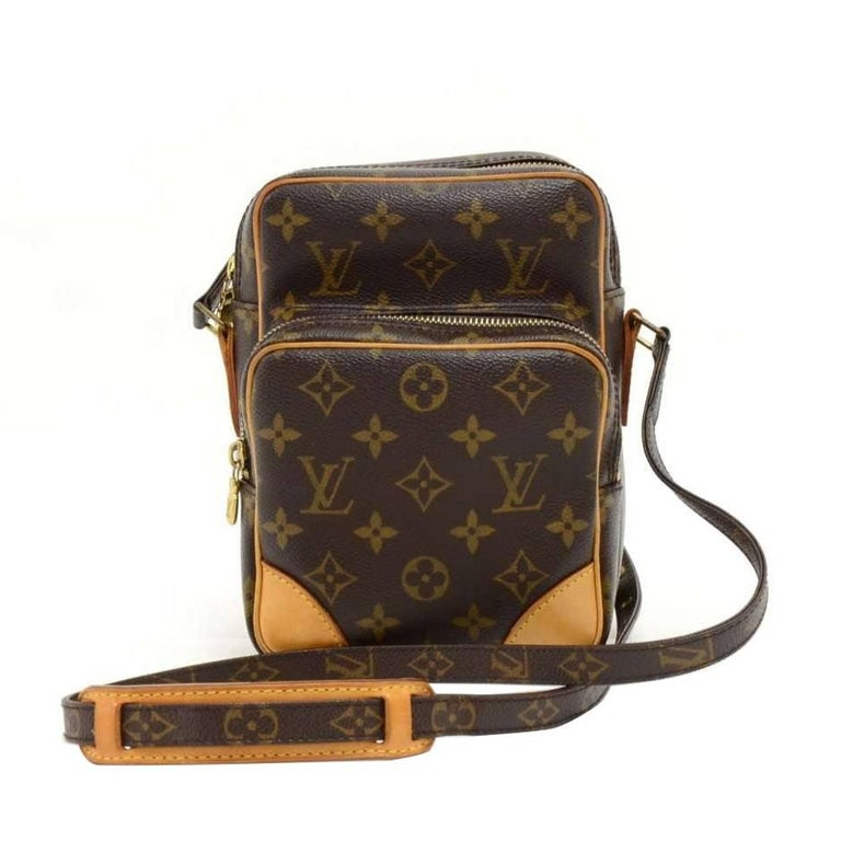 Louis Vuitton Amazone Monogram Canvas Messenger Bag