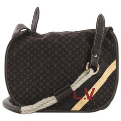 Louis Vuitton Amman Handbag Limited Edition Initiales Mini Lin