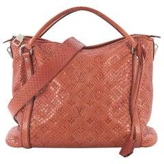 Louis Vuitton Antheia Ixia Handbag Python PM
