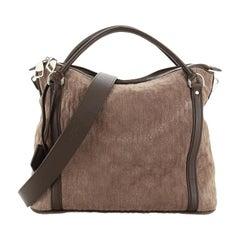 Louis Vuitton Antheia Ixia Handbag Suede PM