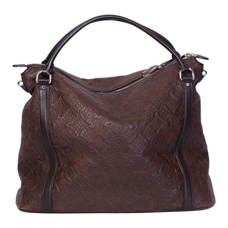 Louis Vuitton Antheia Leather Ixia MM Shoulder Hobo bag