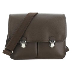 Louis Vuitton Anton Briefcase Taiga Leather