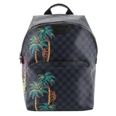 Louis Vuitton Apollo Backpack Limited Edition Damier Cobalt Jungle