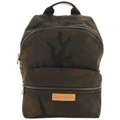 Louis Vuitton Apollo Backpack Limited Edition Supreme Camouflage Canvas