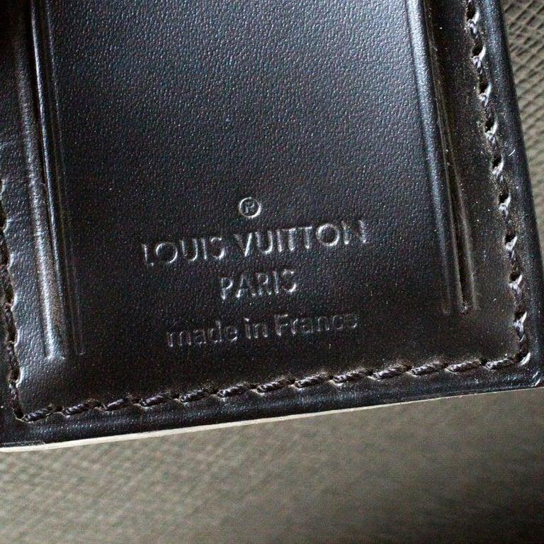 Louis Vuitton Ardoise Taiga Leather Pegase 45 Business Luggage For Sale 5