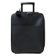 Louis Vuitton Ardoise Taiga Leather Pegase 45 Business Luggage