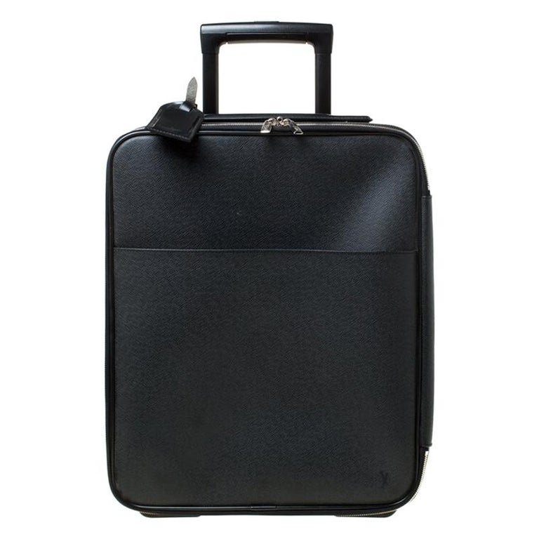 Louis Vuitton Ardoise Taiga Leather Pegase 45 Business Luggage For Sale