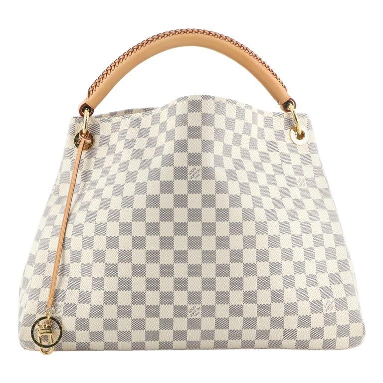 Louis Vuitton Artsy Handbag Damier MM For Sale