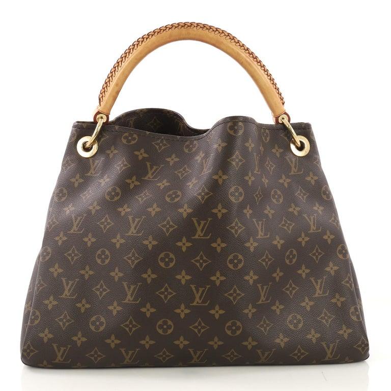 Black Louis Vuitton Artsy Handbag Monogram Canvas MM