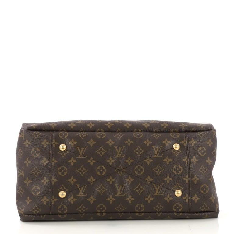 Louis Vuitton Artsy Handbag Monogram Canvas MM In Good Condition In New York, NY