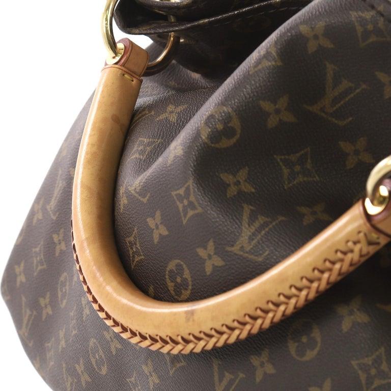 Louis Vuitton Artsy Handbag Monogram Canvas MM 1