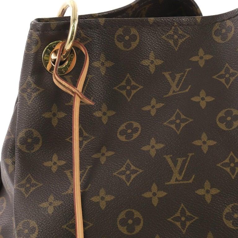 Louis Vuitton Artsy Handbag Monogram Canvas MM 2