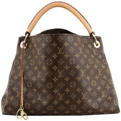 Louis Vuitton Artsy Handbag Monogram Canvas MM