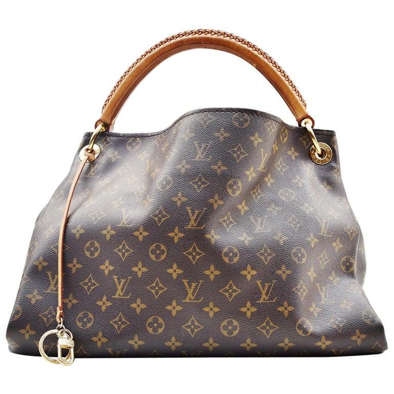 Louis Vuitton Artsy Handbag Monogram Canvas MM For Sale