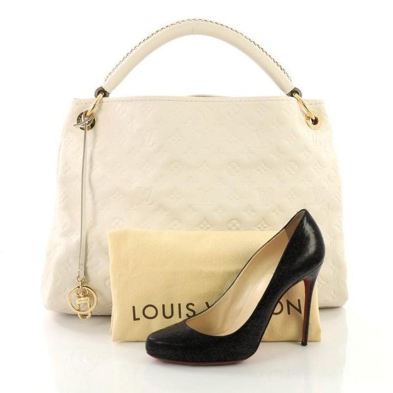 73a31c67a992b Louis Vuitton Artsy Handtasche Monogram Geprägtes Leder MM bei 1stdibs