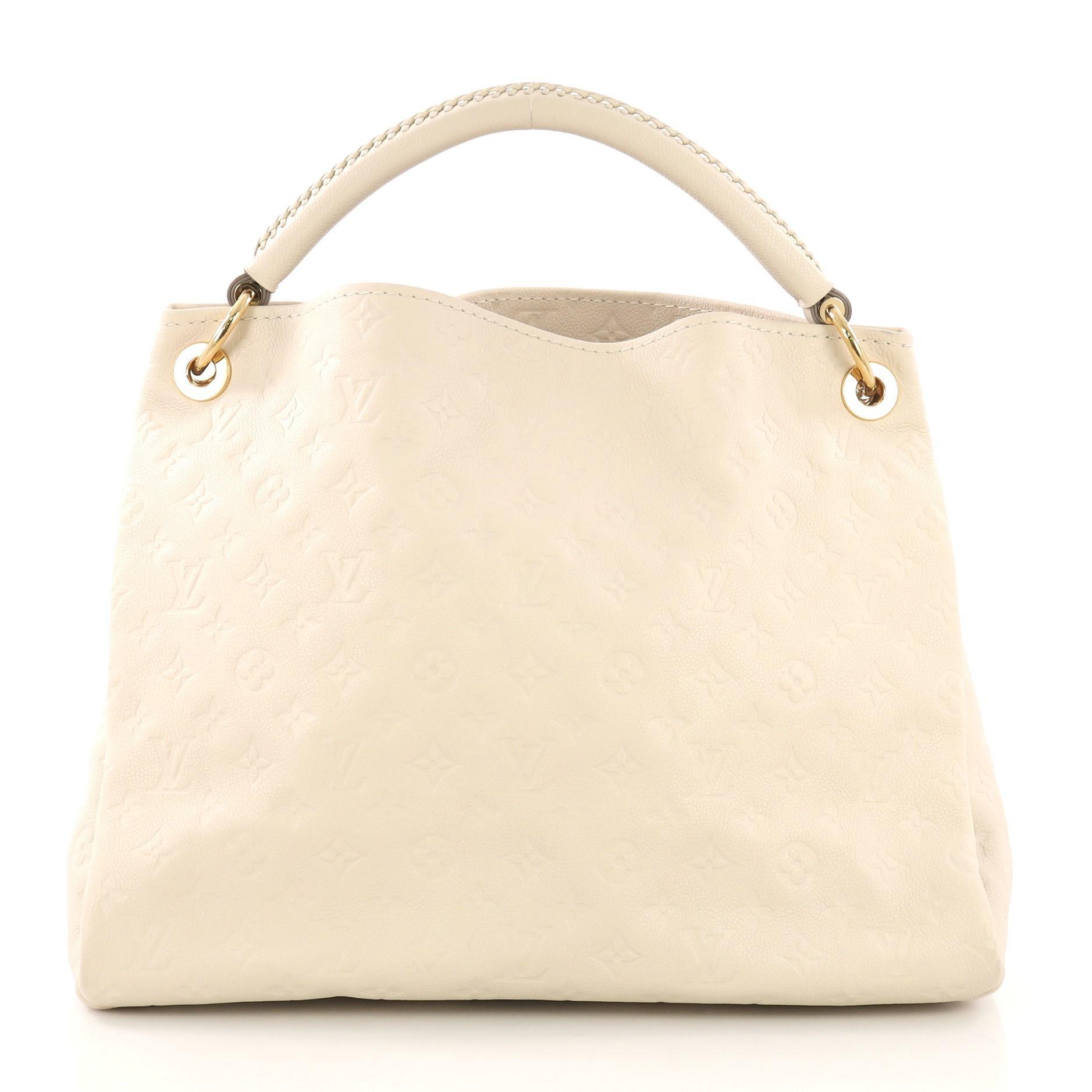 5da985807629 Louis Vuitton Artsy Handbag Monogram Empreinte Leather MM For Sale at  1stdibs