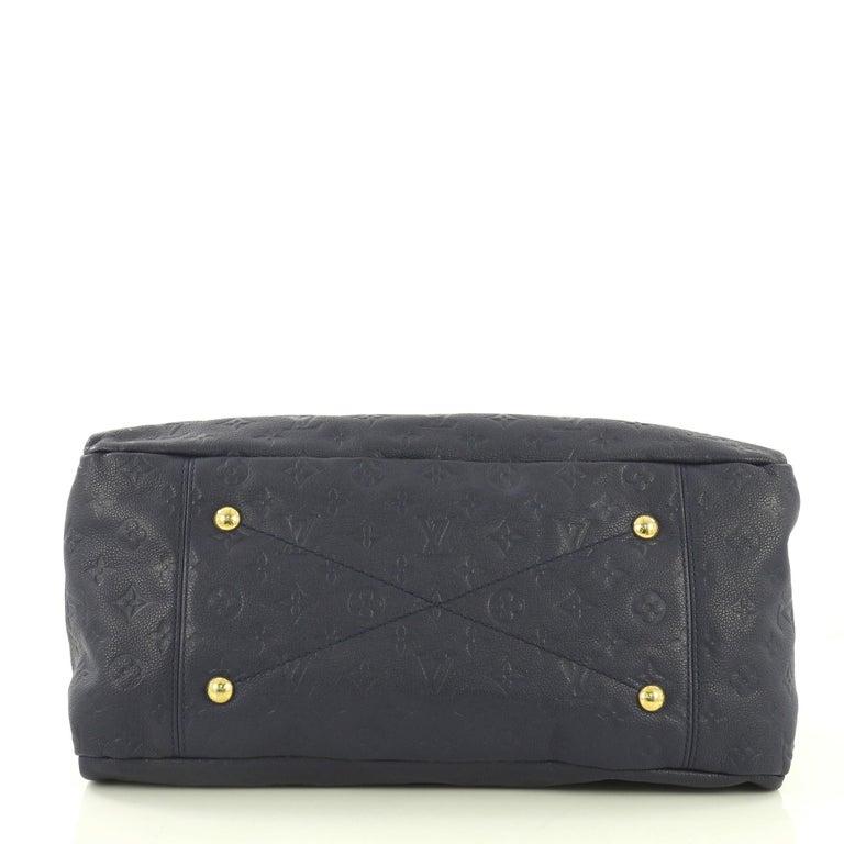 Women's Louis Vuitton Artsy Handbag Monogram Empreinte Leather MM