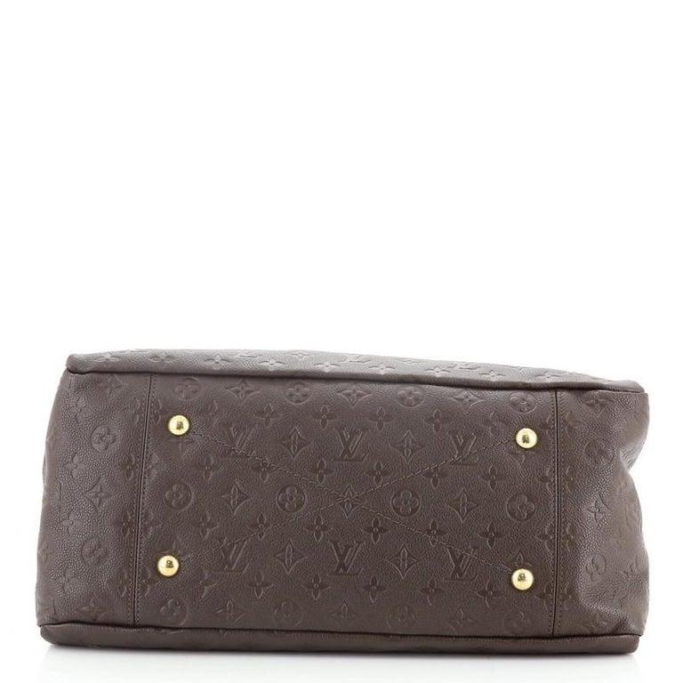 Louis Vuitton Artsy Handbag Monogram Empreinte Leather MM For Sale 1