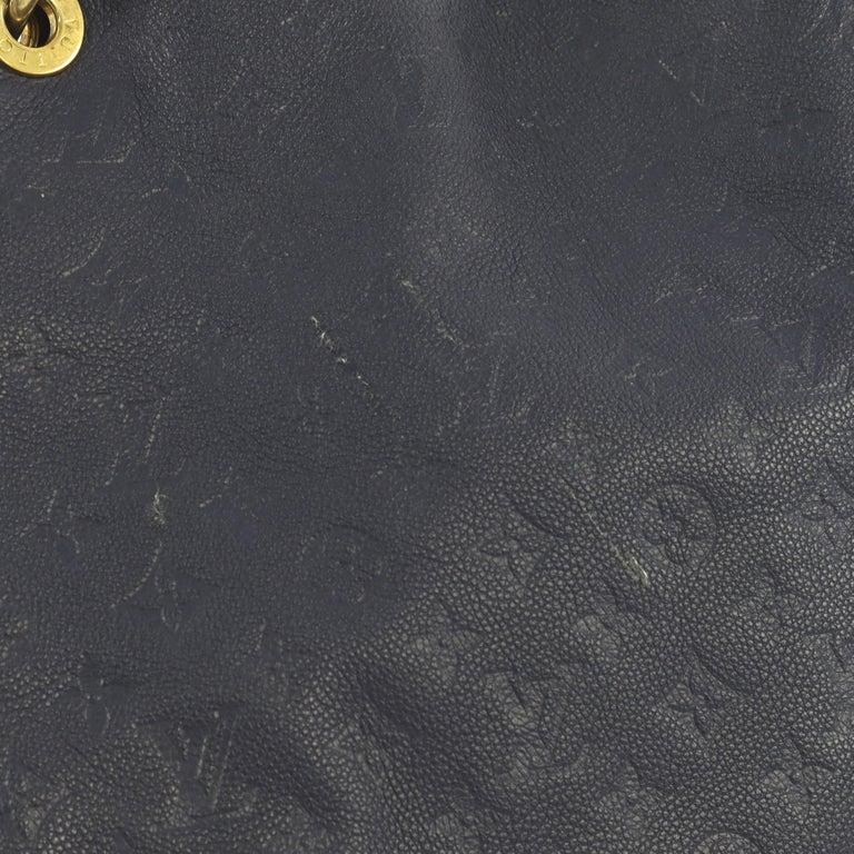 Louis Vuitton Artsy Handbag Monogram Empreinte Leather MM 1