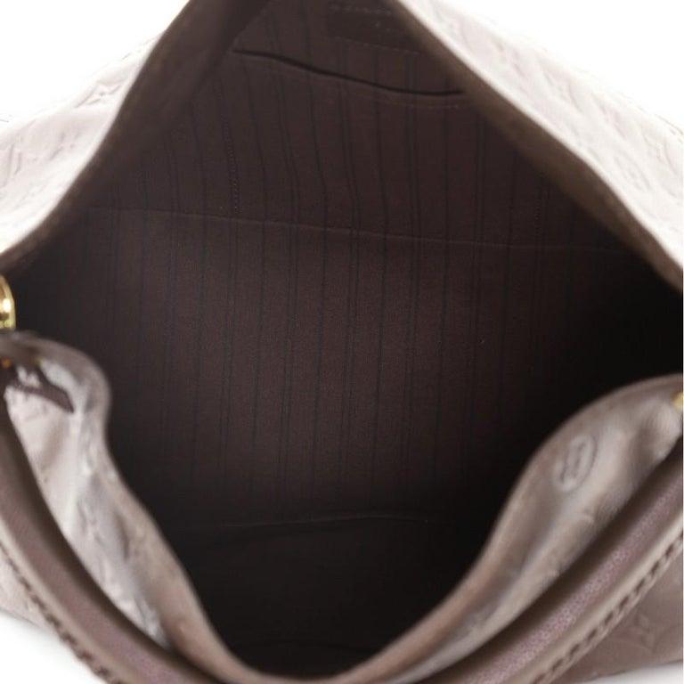 Louis Vuitton Artsy Handbag Monogram Empreinte Leather MM For Sale 2