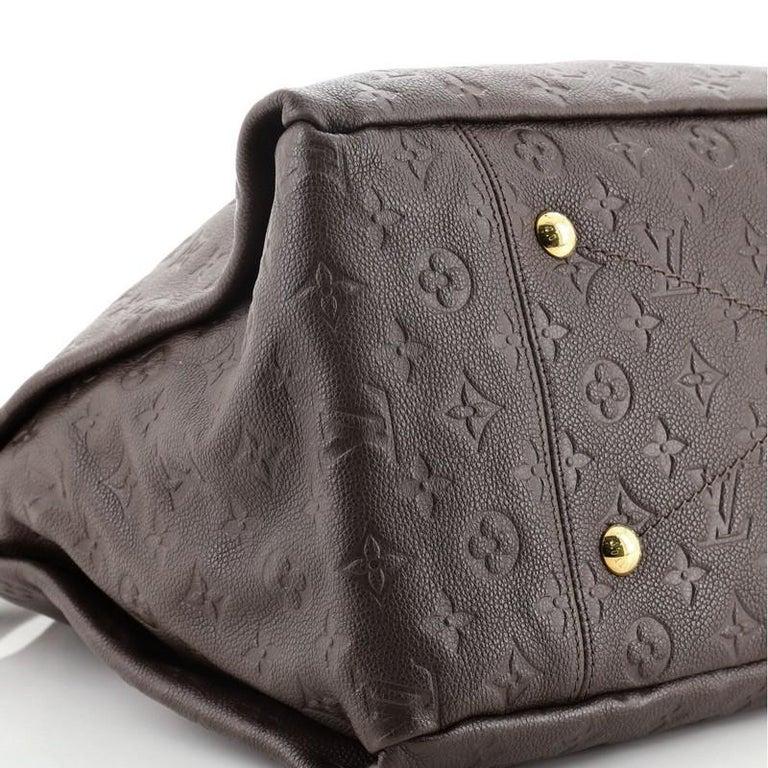 Louis Vuitton Artsy Handbag Monogram Empreinte Leather MM For Sale 3