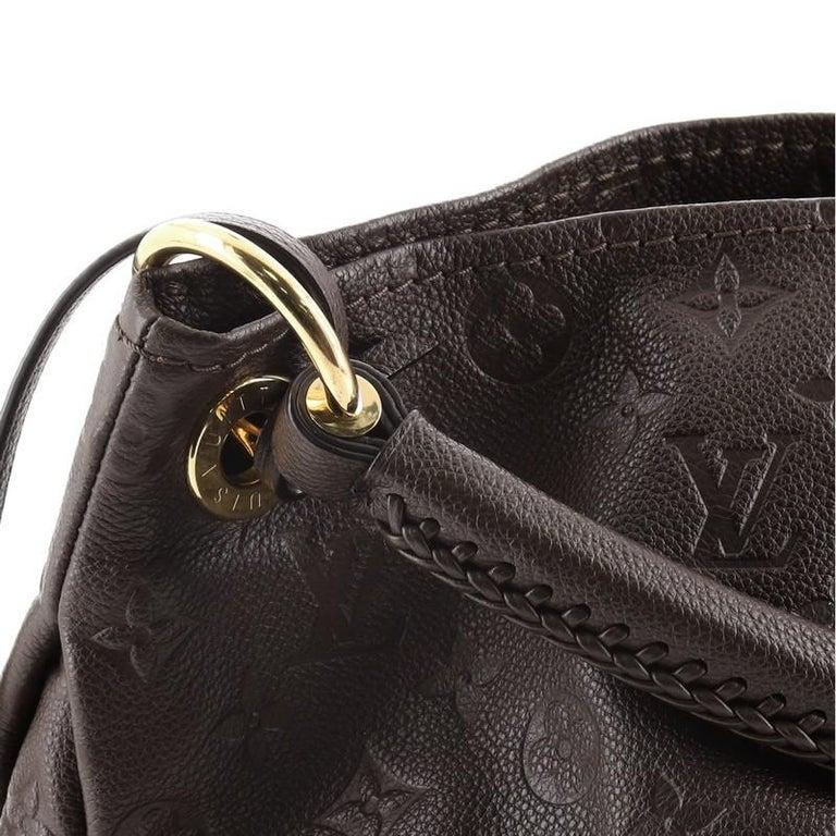 Louis Vuitton Artsy Handbag Monogram Empreinte Leather MM For Sale 4
