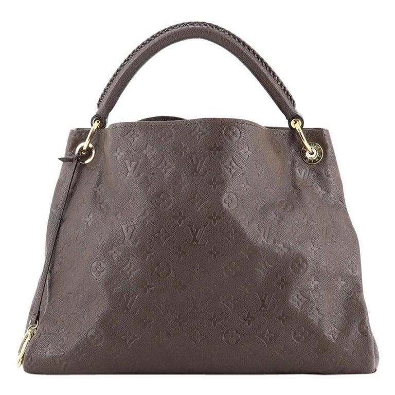 Louis Vuitton Artsy Handbag Monogram Empreinte Leather MM For Sale