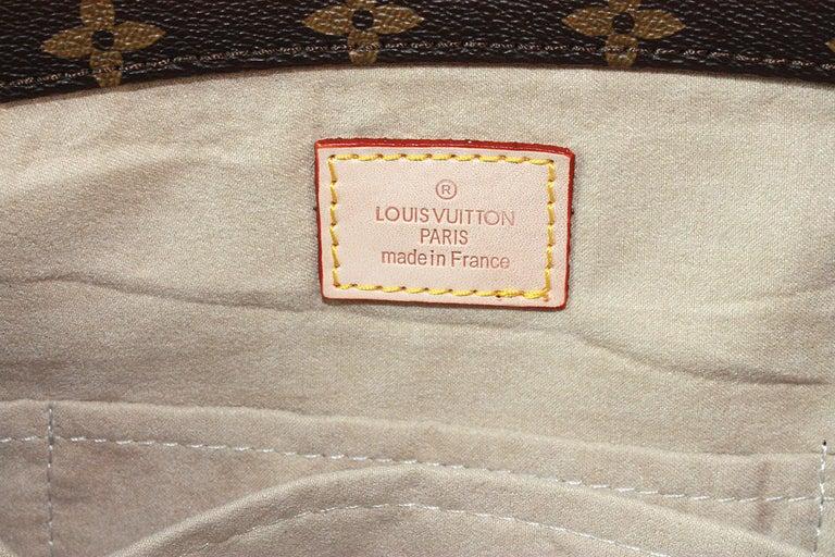 Louis Vuitton Artsy Hobo Braided Brown Leather Monogram Shoulder Bag For Sale 5