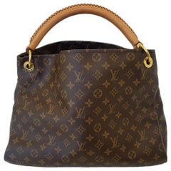 Louis Vuitton Artsy MM Brown Monogram Hobo Bag
