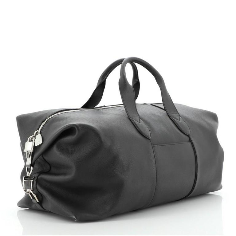 Louis Vuitton Astralis Bag Taiga Leather 50 In Good Condition For Sale In New York, NY