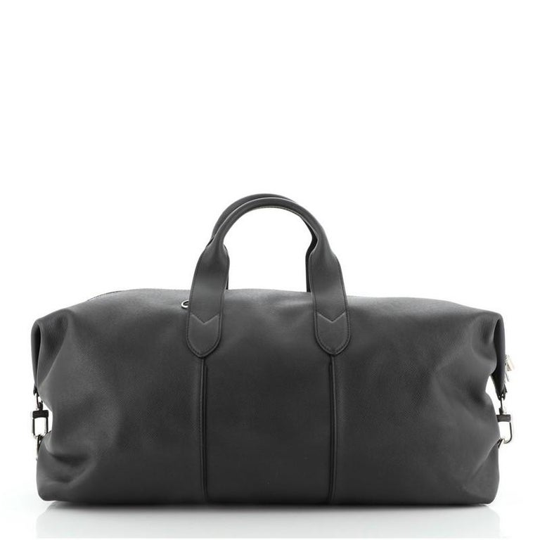 Women's or Men's Louis Vuitton Astralis Bag Taiga Leather 50 For Sale
