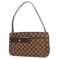 LOUIS VUITTON Aubagne Womens shoulder bag N51129 Damier ebene