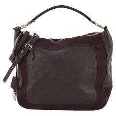 Louis Vuitton Audacieuse Handbag Monogram Empreinte Leather MM