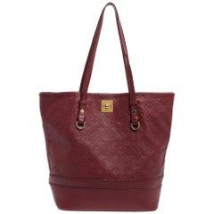 Louis Vuitton Aurore Monogram Empreinte Leather Citadine PM Bag