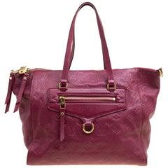 Louis Vuitton Aurore Monogram Empreinte Leather Lumineuse PM Bag