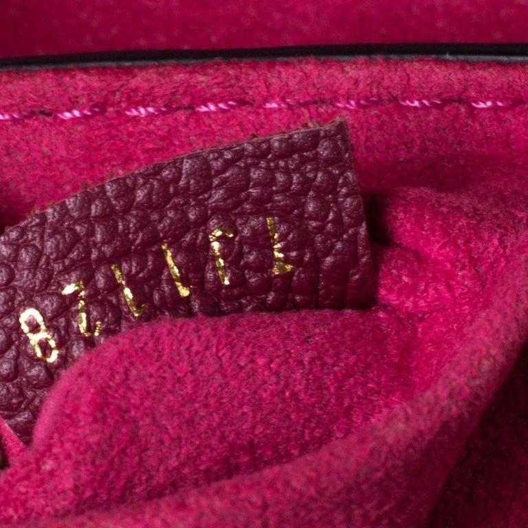 Louis Vuitton Aurore Monogram Empreinte Leather Saint Sulpice Bag For Sale 6